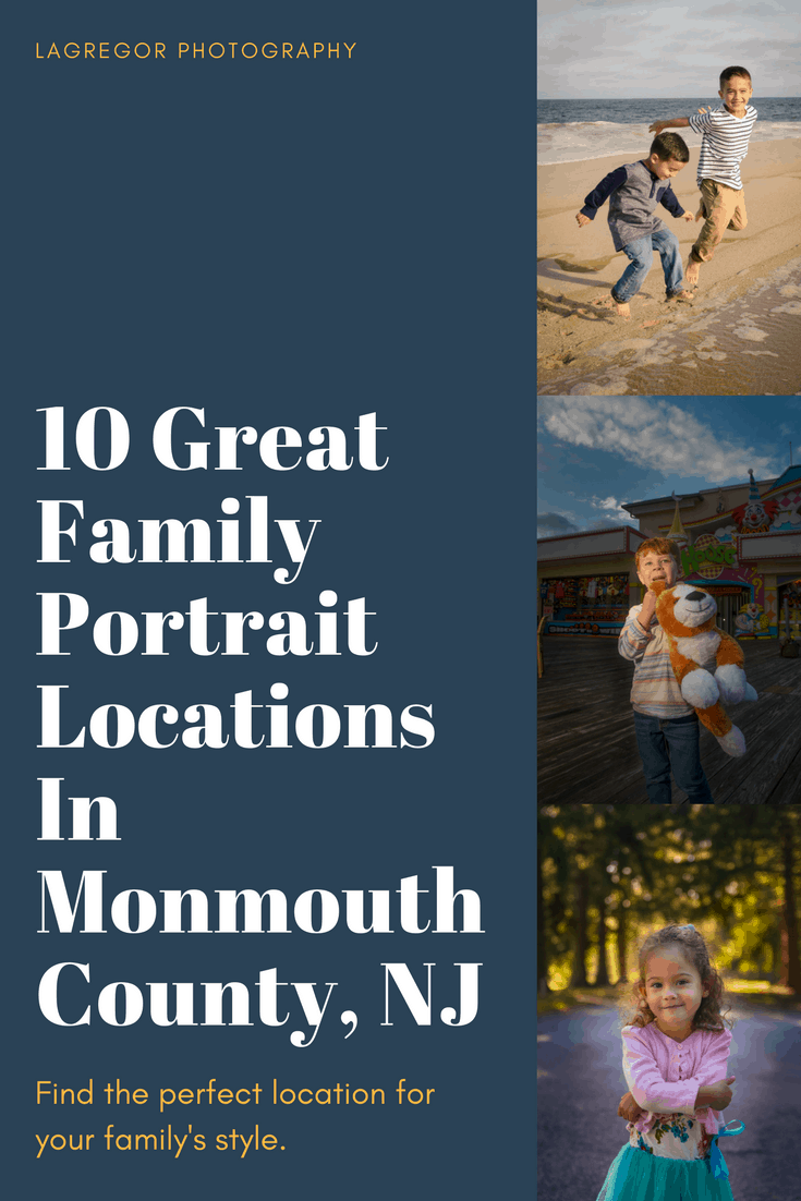 10 Great NJ Photo Spots for Portraits | My favorite locations in Central NJ to shoot family portraits #njfamilyportrait #njfamilyphotographer #njphotographer