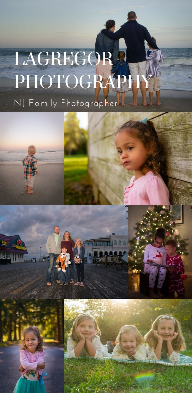 NJ Family Photographer | Central Jersey and Jersey Shore | Click the link to learn more about my custom designed and planned family portrait sessions and wall art galleries.