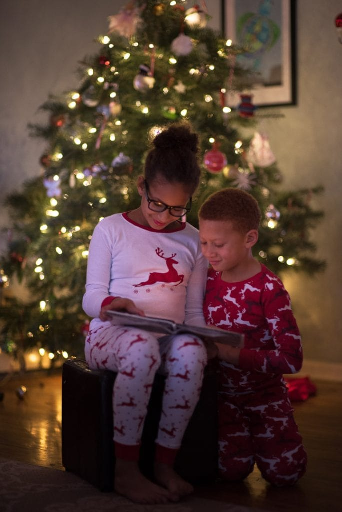 Story Time By The Christmas Tree